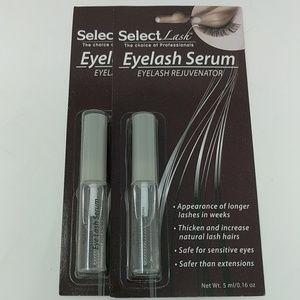NWT 2pc K Beauty Select Lash Eyelash Growth Serum